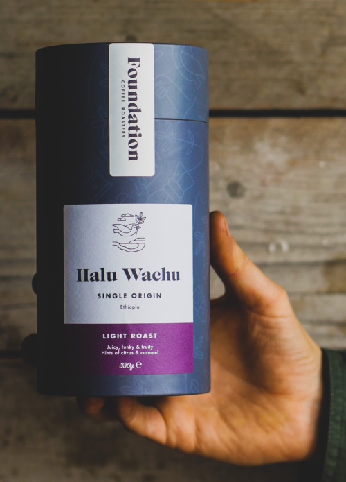 Halu Wachu - single origin - light roast coffee